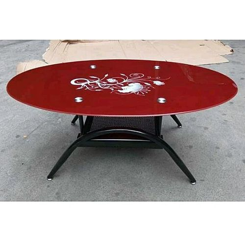Tampered Glass Coffe Center Table