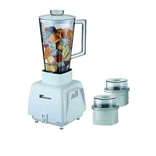 3 In 1 Grinder/Blender 1.0 Ltr S-748 (BF18)- White