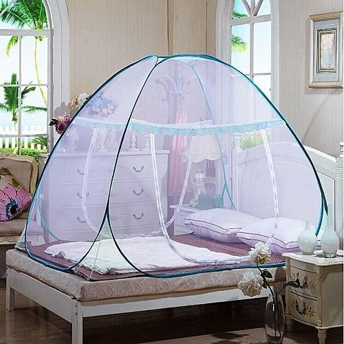 7x7 Fold-able Mosquito Tent Net