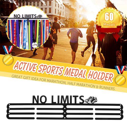 60+ Medals Holder Display MedalHook Race Sport Running Hanger Rack No Limits