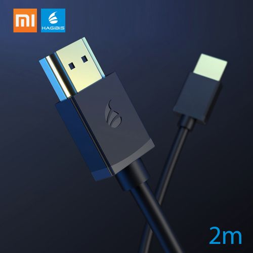 Xiaomi HAGIBIS HD Multimedia Interface Cable 4K 3D Gold