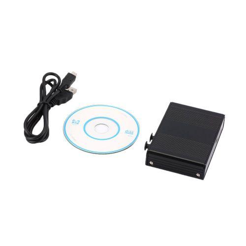 USB Sound Card 5.1 7.1 Fiber Compact Portable Computer Black