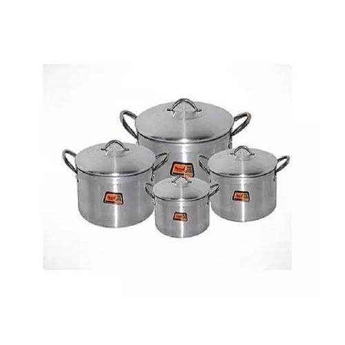 Cooking Pot Set 4pcs-(16,18,20,22cm)Tower Trim