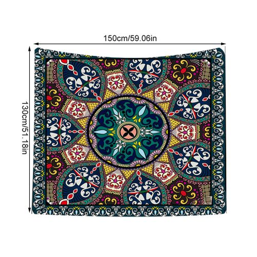 Colorful Floral Pattern Tapestry Wall Hanging Art Tapestries Home Decor For Bedroom Living Room Dorm Apartment