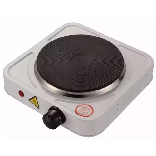 Electric Cooker Single Face Hot Plate - White
