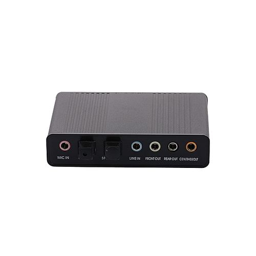External Sound Card USB 6 Channel 5.1 / 7.1 Surround Adapter