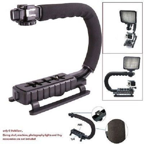 U-Grip Video Action Stabilizing Handheld Stabilizer Rig Hot Shoe Compatible Canon Sony DSLR Camera And Most Smartphone