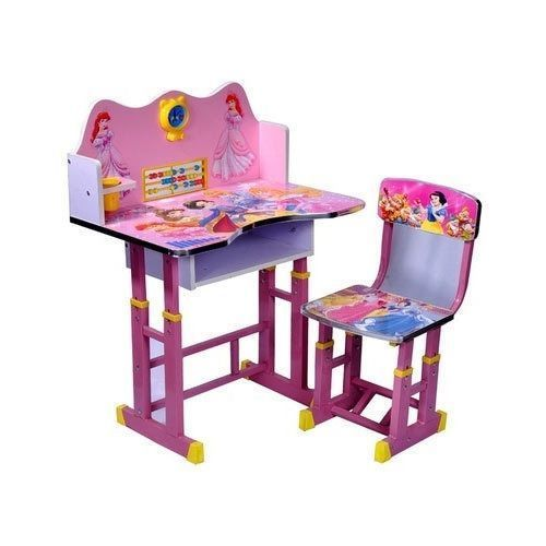 Disney Character Study Table And Chair- Pink
