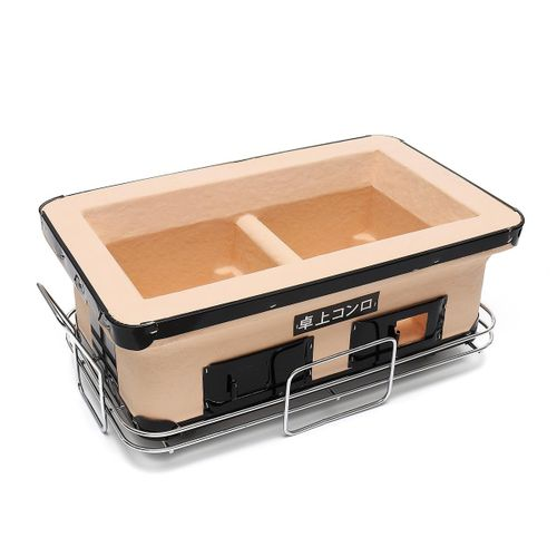 JAPANESE / KOREAN CERAMIC HIBACHI BBQ BARBEQUE TABLE GRILL