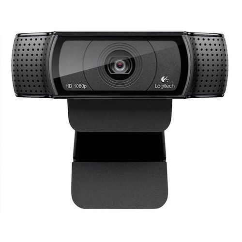 HD Pro Webcam C920, Widescreen Video Calling And Recording, 1080p Camera, Desktop Or Laptop Webcam