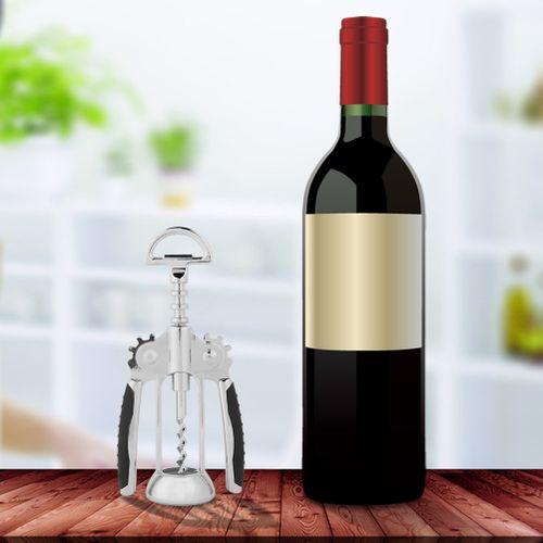 Barista Bottle Opener, Professional Zinc Alloy Corkscrew Bottle Opener Kitchen Accessory Bar Corkscrew Tool Multifunction Bottle Opener