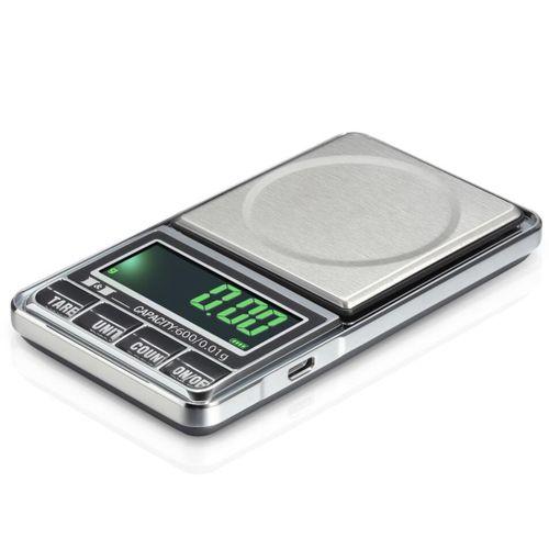 100g-600g X 0.01g USB Powered Electronic Scale Digital Pocket Libra Jewelry Scale Balance Joyeria Balanca Weighing Weight Scale(100x0.01g)