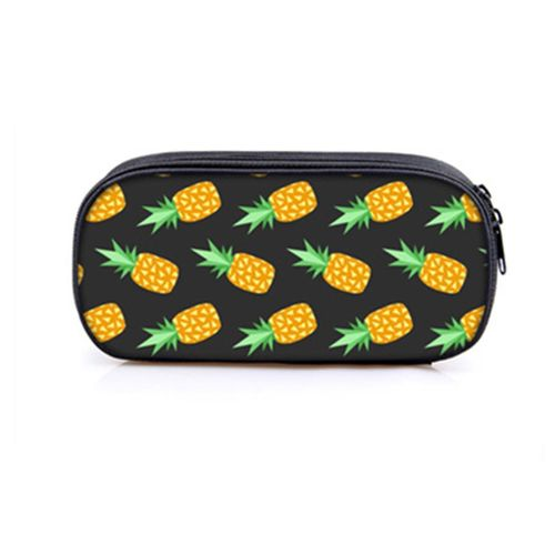 Pineapple Large Cute Pineapple Pen Pencil Case School Stationery Cosmetic Bag