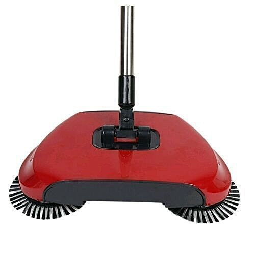 Magic Sweeper Spin Broom And Vacuum Cleaner