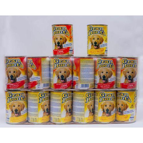 Gran Bonta Pet Dog Food 24 Cans