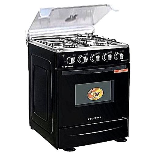 Polystar 3X1 Burner Gas Cooker+ Oven Grill+ Auto Ignition