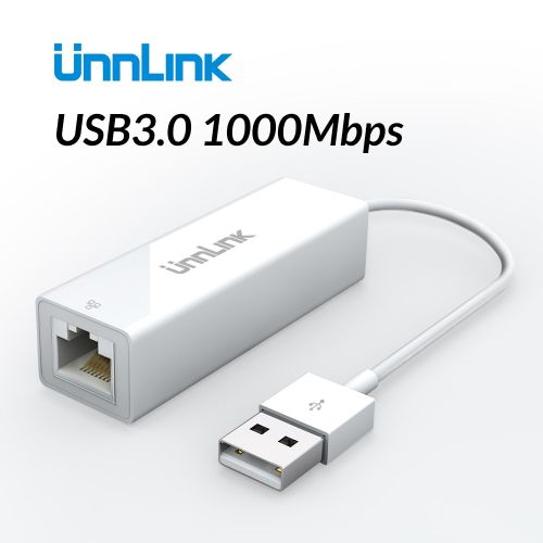 USB Ethernet Adapter USB 2.0/3.0 100/1000Mbps Gigabit RJ45 Lan USB Network Converter For Computer Laptop Notebook Mi Box( )