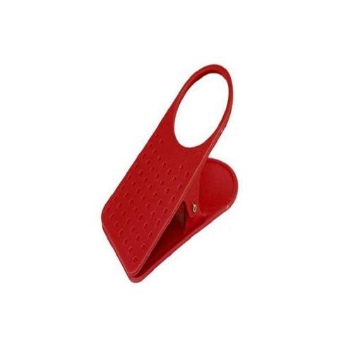 Clip-on Desk Cup Holder - Red