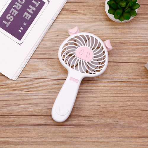 Small Electric Fan Mini USB Student Dormitory Bed Desktop Office Cute Portable Rechargeable Air Cooler Fans