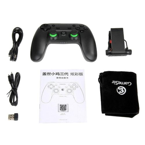 GameSir G3s Enhanced Edition Wireless Gamepad 2.4GHz Bluetooth 4.0 Connection For IOS/Android/Windows/PS3-Green JY-M