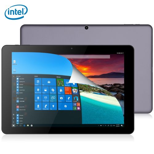 Hi12 CWI520 12.0 Inch Tablet PC Windows 10 + Android 5.1 4GB RAM 64GB ROM Bluetooth 4.0-SILVER