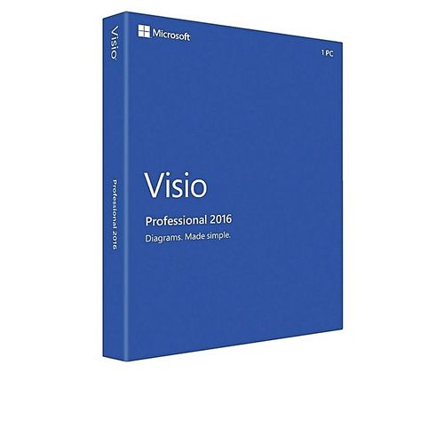 MICROSOFT VISIO 2016 PROFESSIONAL (5PC)