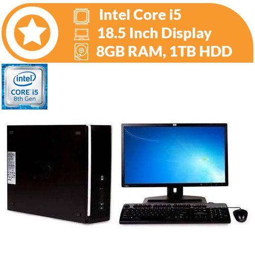 6300 Pro SFF Intel Core I5 (3.2gHZ) 8GB Ram 1TB HDD, Win 10 Pro & MS Office Pro Preloaded