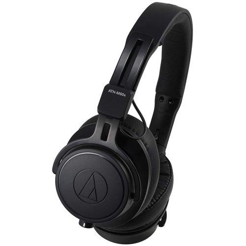 ATH-M60X On-Ear Closed-Back Dynamic Professional Studio Monitor Headphones