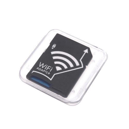 WiFi Wireless Micro SD TF Card To SD Card Adapter For IOS