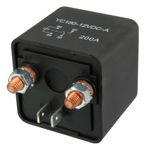 New 12V 200A Heavy Duty Split Charge ON/OFF Switch Relays Car Auto Boat 200Amp