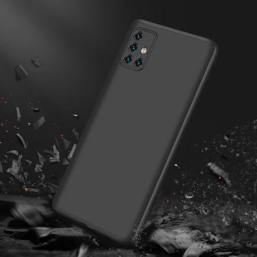 Samsung Galaxy A51 3 In 1 Hard PC Case - Black
