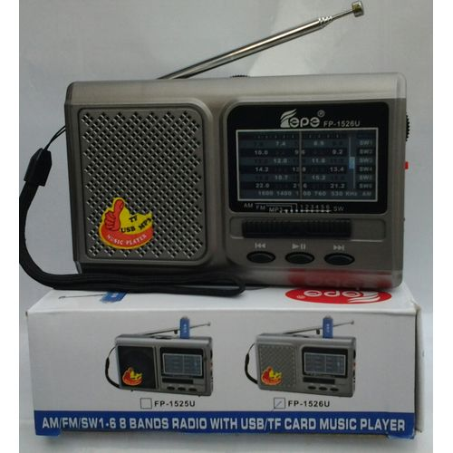 Rechargeable World Receiver Radio