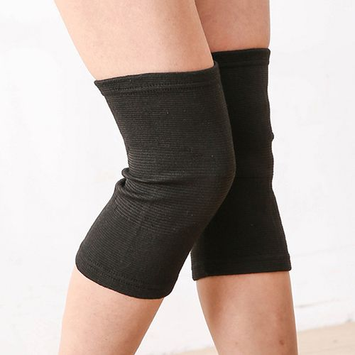 KALOAD 1 Pair Polyester Fiber Breathable Bamboo Charcoal Knee Pad Running Fitness Sports Protector