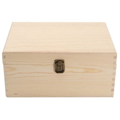 Essential Oil Wooden Storage Box Carrying Case Container Organizer - 38 Bottles