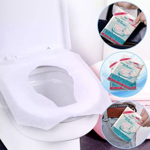 10pcs/pack Portable Disposable Travel Toilet Seat Cover