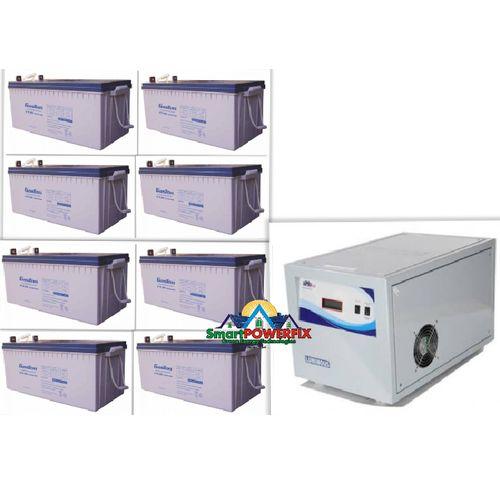 5kva Inverter With 8 Rugged GASTON 200ah Batteries