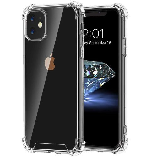 Case For IPhone 11 Pro Max, Shock-Absorption Cover, HD Clear