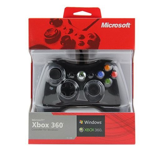 XBOX 360 WIRED CONTROLLER COMPACTABLE WITH PC