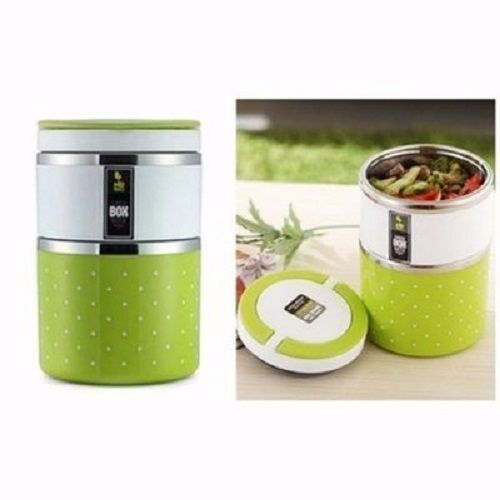 Double Layer Food Flask With Stainless Inner