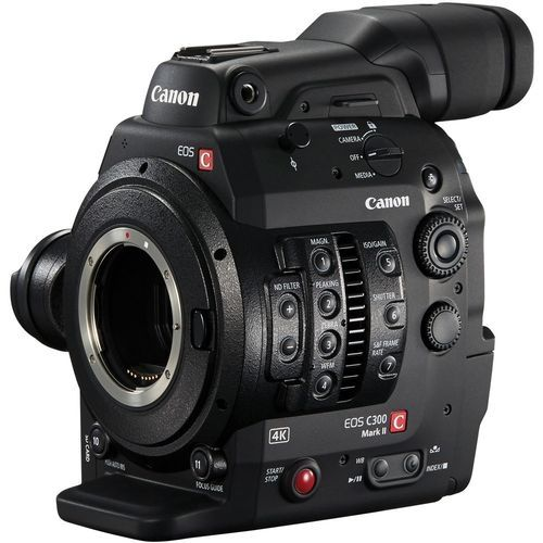 Canon EOS C300 Mark II Camcorder Body With Dual Pixel CMOS AF - With Warranty