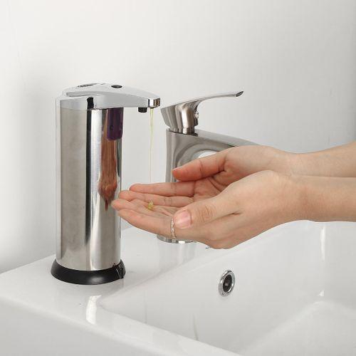 Stainless Steel Handsfree Automatic IR Sensor Touchless Soap Liquid Dispenser
