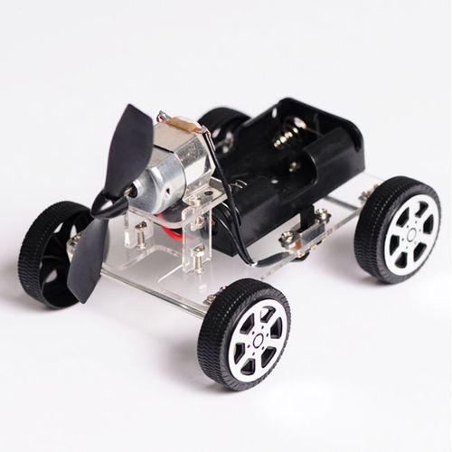 Mini Wind Car DIY Puzzle Robot Kit For Arduino
