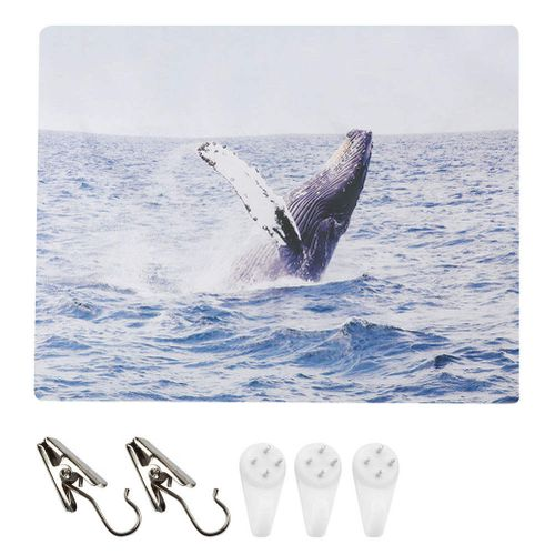 Polyester Sea Marine Whale Printed Wall Hanging Bedding Tapestry Wall Hanging