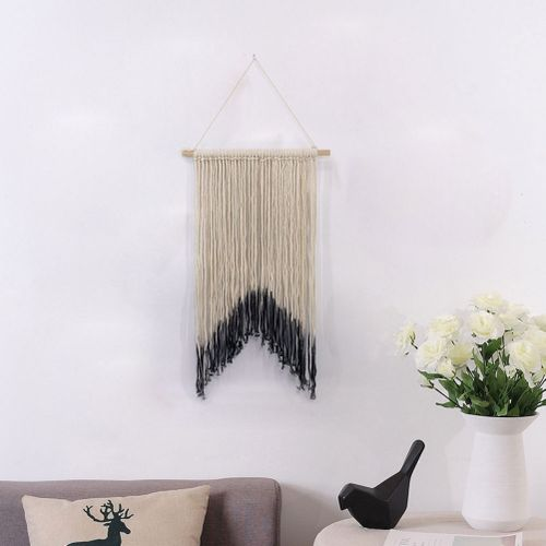Nordic Style Upholstery Braided Wall Hanging Decoration Adornment Home Bedroom Living Room Decoration Pendant Ornament