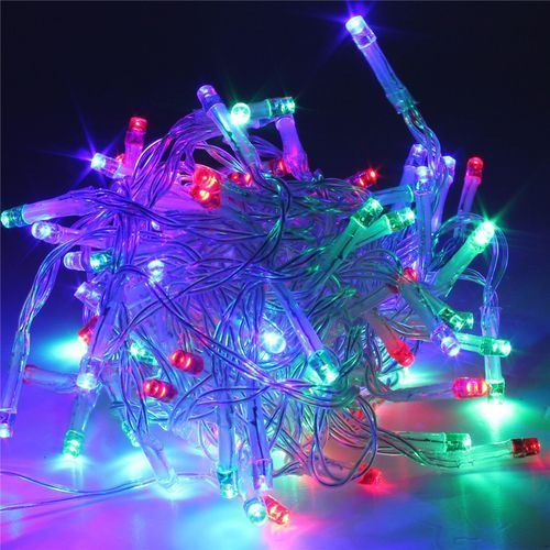 10M 80LED Fairy String Lights Battery Powered Home Xmas Tree Party Decor Lamps