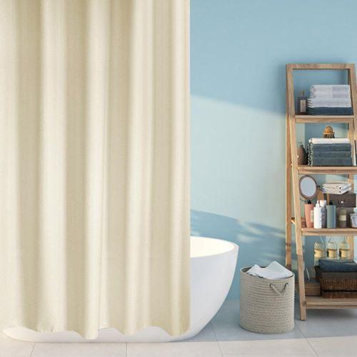 Good Quality Waterproof Thicken Shower Bath Curtain Waterproof Bathroom Curtain + Hanging Hooks Waterproof Bathroom Curtain