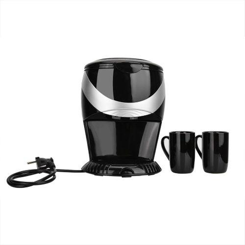 Household Mini Drip Filter Automatic Coffee Maker Machine 2 Cups 450W(220V EU Plug)