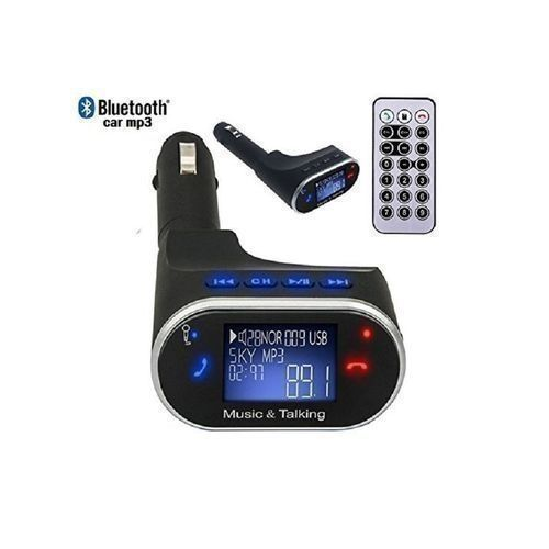 Bluetooth Car Stereo MP3 With FM Transmitter And Phonecall Hands-free Kit