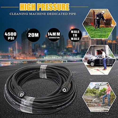 20M 4500Psi High Pressure 14Mm Pump End Joint Cleaner Cleaning Hose