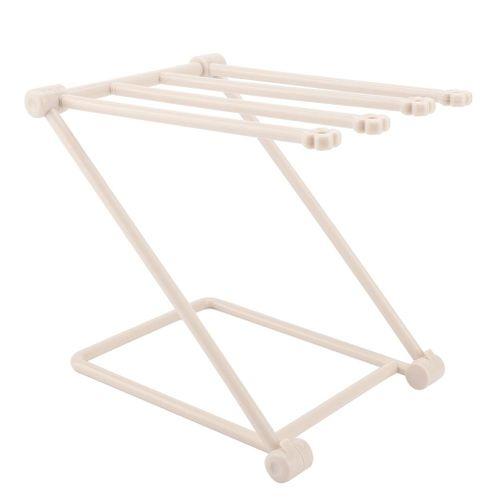Plastic Thick Stable Folding Towelcloth Dishcloth Rack Organizer Holder Kitchen